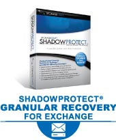 ShadowProtect Granular Recovery for Exchange