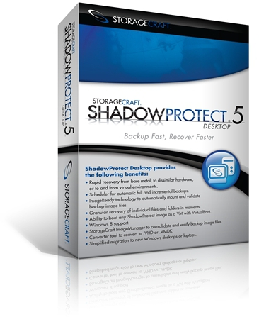 ShadowProtect 10 pack desktop computer backup software