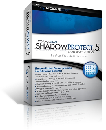 StorageCraft ShadowProtect 5 Small Business Server